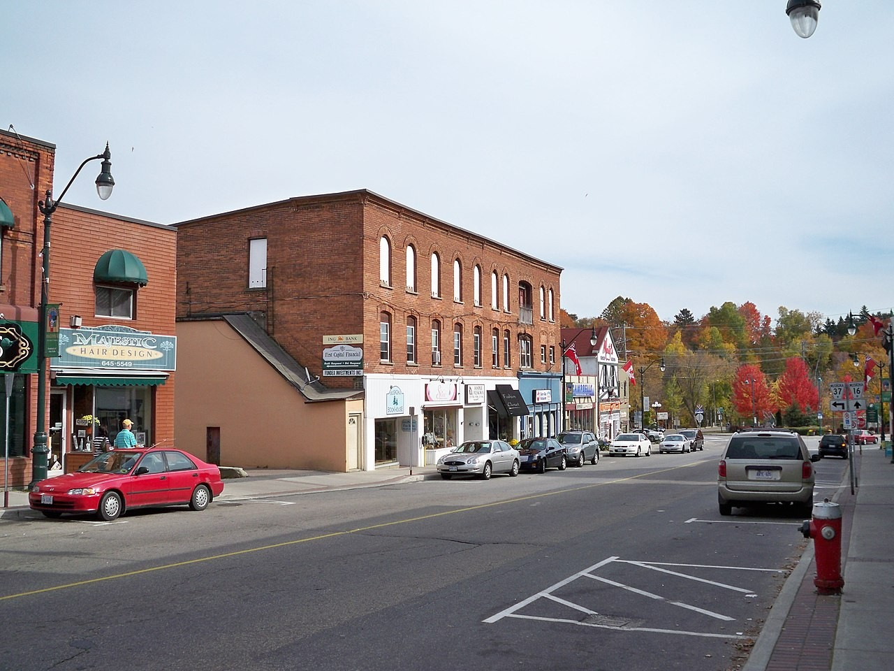 """Picture for article """"Town of Bracebridge History"""""""