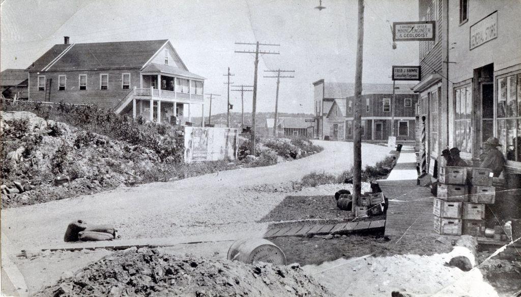 Kirkland Lake in 1920