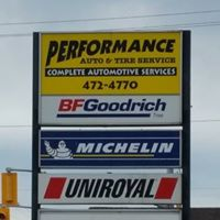 Performance Auto & Tire Service logo