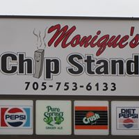 Monique's Chip Stand logo