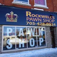 Rockwell's Pawn Shop logo