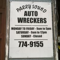 Parry Sound Auto Wreckers & Towing logo