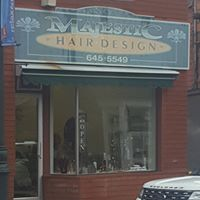 Majestic Hair Design logo