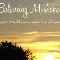 Balancing Muskoka logo
