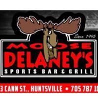 Moose Delaney's Sports Grill logo