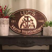 Luc's Home Improvements logo