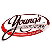 Young's Auto Body logo