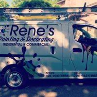 Rene's Painting & Decorating logo
