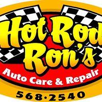 Hot Rod Ron's logo