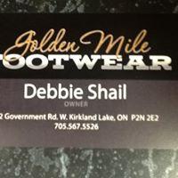 Golden Mile Footwear logo