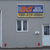 R & S Auto Service logo