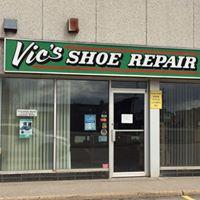 Vic's Shoe Repair logo