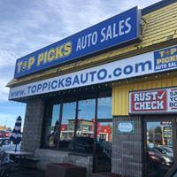 Top Picks Auto Sales logo