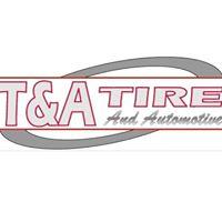 T & A Tire logo