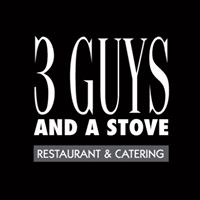 3 Guys And A Stove logo