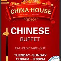 Huntsville China House logo