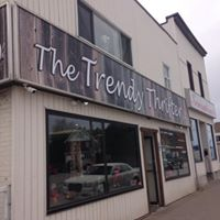 The Trendy Thrifter logo