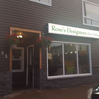Rose's Designers & Hair Salon logo