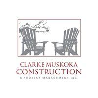 Clarke Muskoka Construction logo