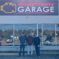 Hometown Garage logo
