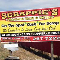 Scrappie's Salvage Iron & Metal logo