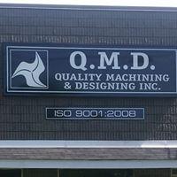 Quality Machining & Designing Inc logo