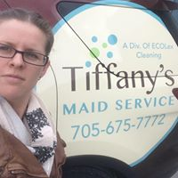 Tiffany's Maid Service logo