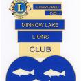 Minnow Lake Lions logo