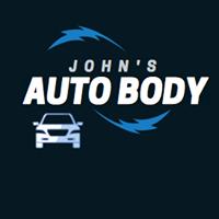 John's Auto Body logo