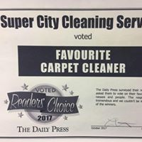 Super City Cleaning Services Ltd logo