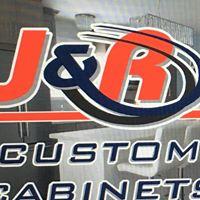 J & R Custom Cabinets logo