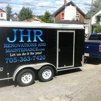 JHR Renovations & Maintenance logo