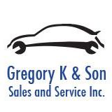 Gregory K and Son Sales & Service logo
