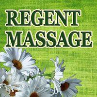Regent Massage logo