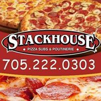 Stackhouse Pizza Subs & Poutinerie logo
