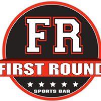 First Round Sports Bar logo