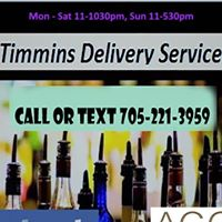 Timmins Delivery Service logo
