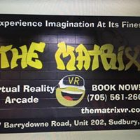 The Matrix VR logo