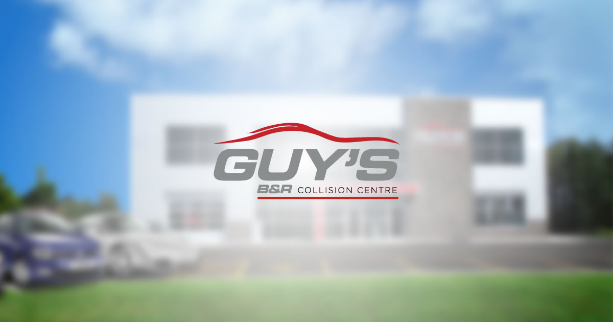 Guy's B & R Collision Centre logo