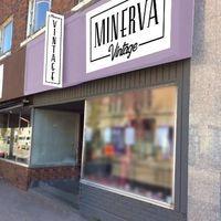 Minerva vintage logo