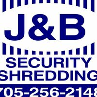 J & B Security Shredding & Recycling logo