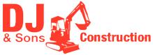 DJ & Sons Construction logo
