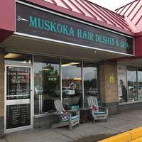 Muskoka Hair Design & Spa logo