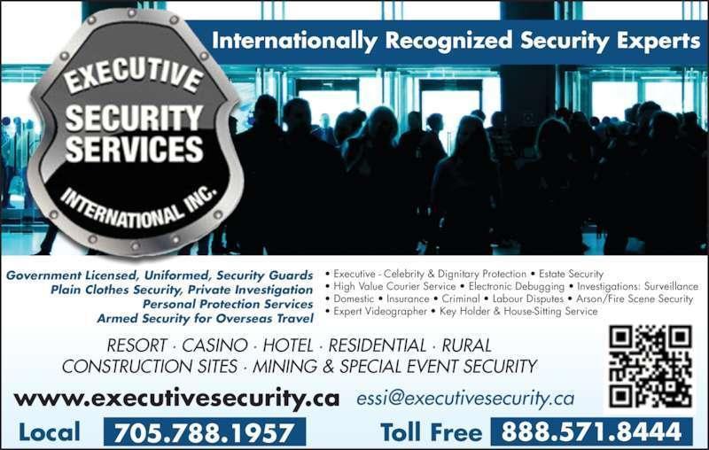 Executive Security Services International Inc. logo