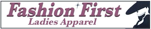 Fashion First Ladies Apparel logo