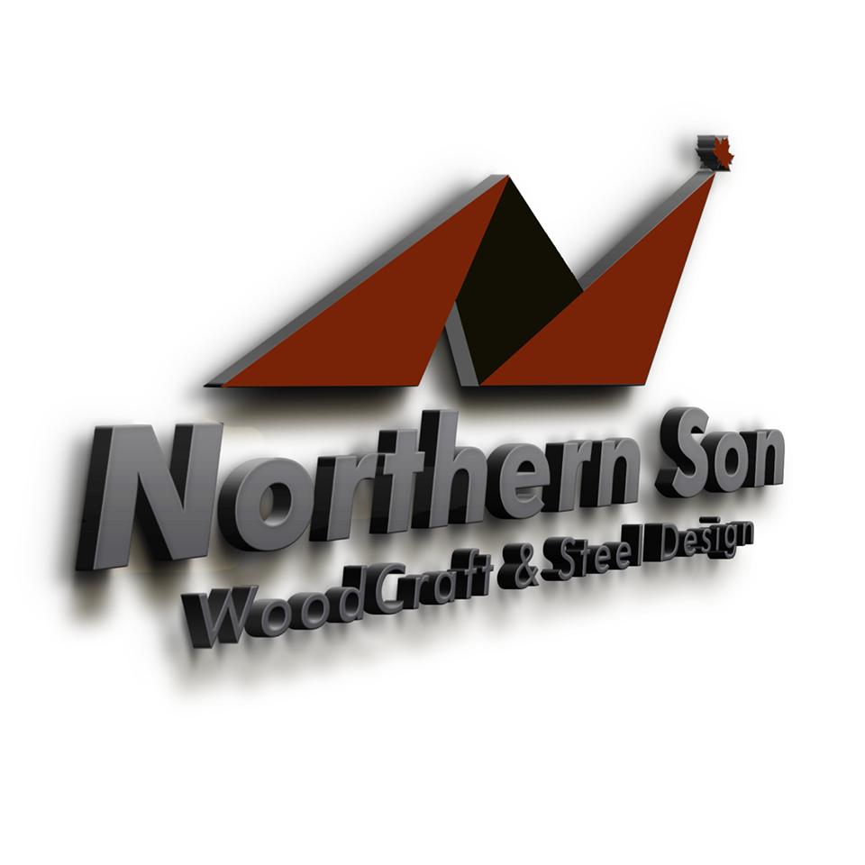 Northern Son Woodcraft & Steel Design logo