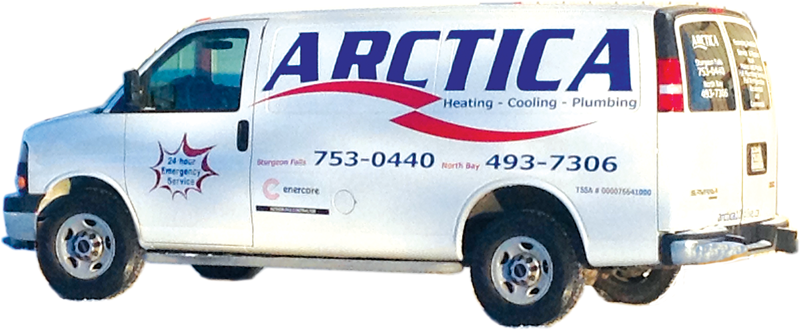 Arctica Heating - Cooling - Plumbing logo