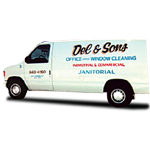 Del & Sons Janitorial Service logo