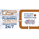 Greater Sudbury Plumbing Heating & A/C logo