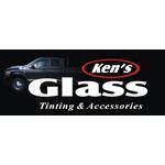 Ken's Glass logo